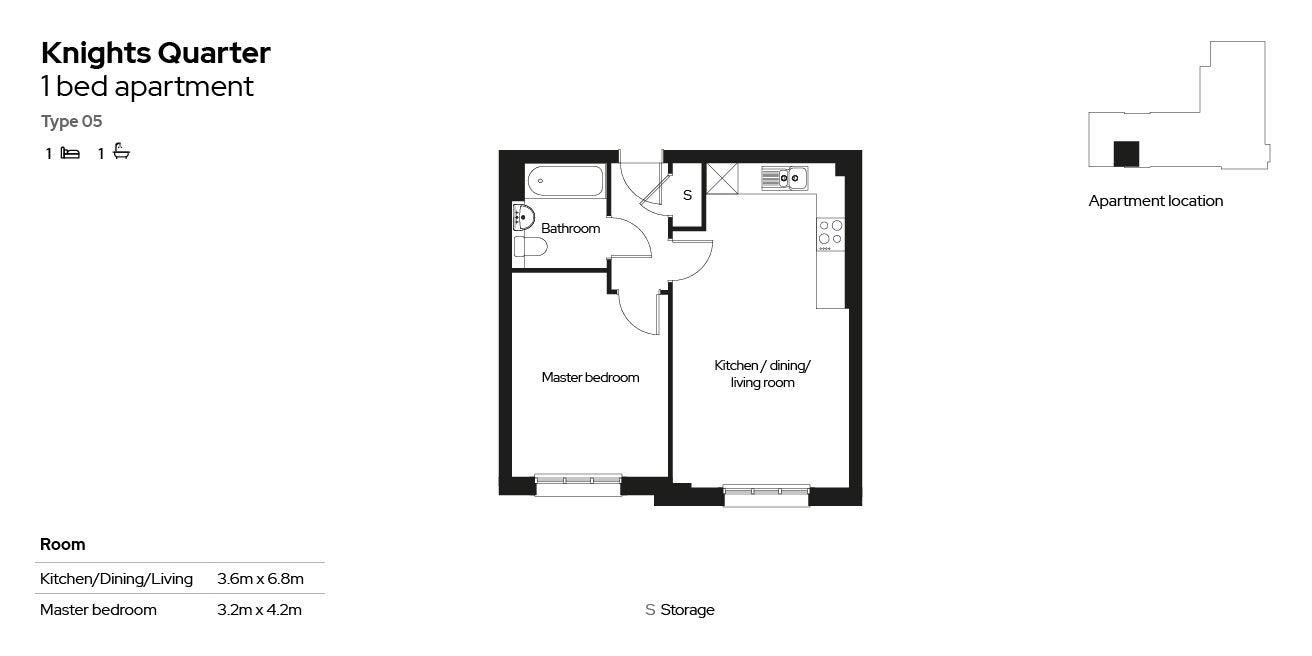 Knights Quarter apartment type 05