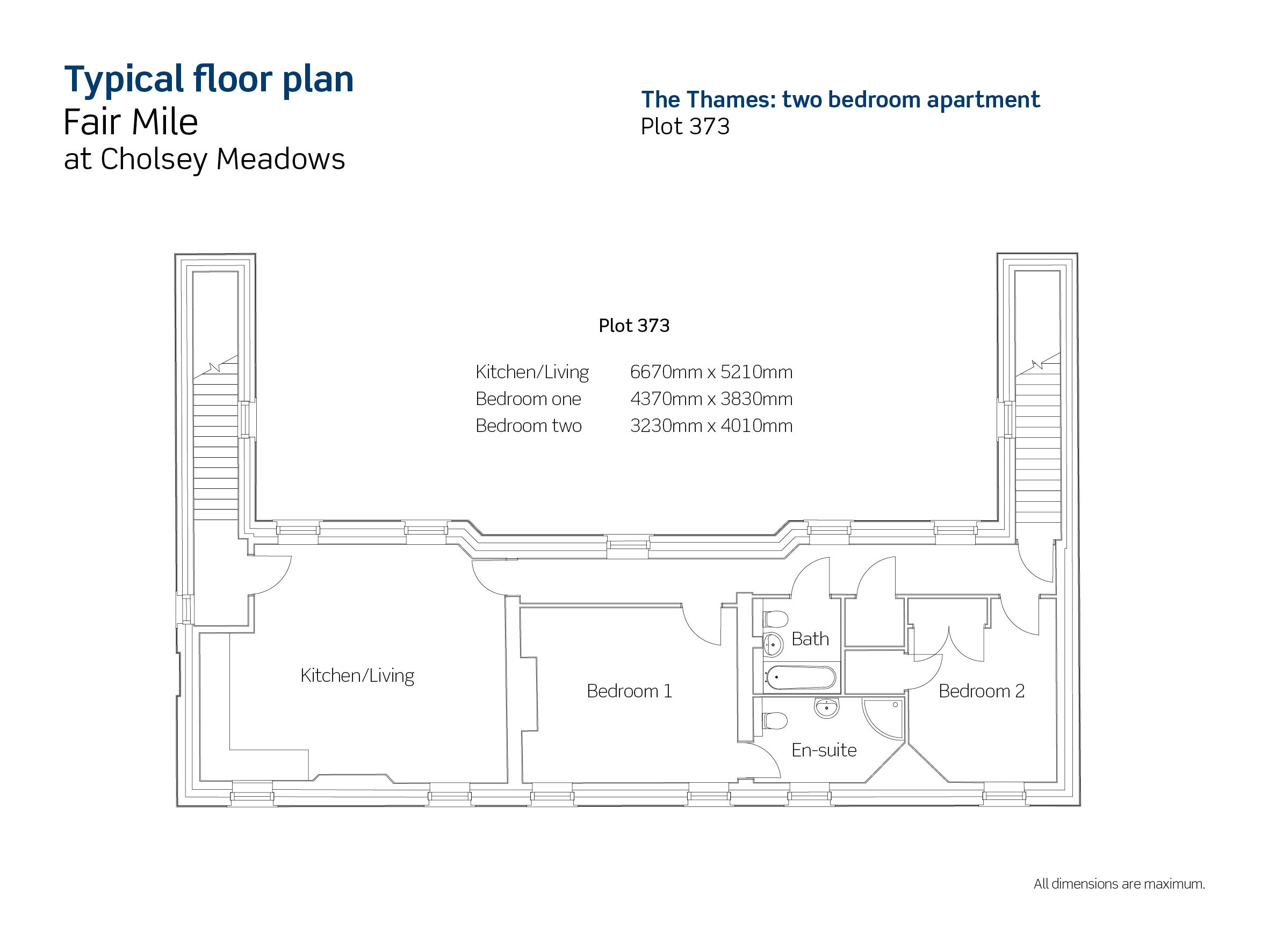 Fair Mile at Cholsey Meadows plot 373 floor plan