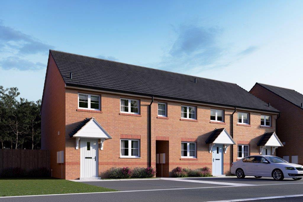 Great Oldbury Exterior CGI Plots 97-99