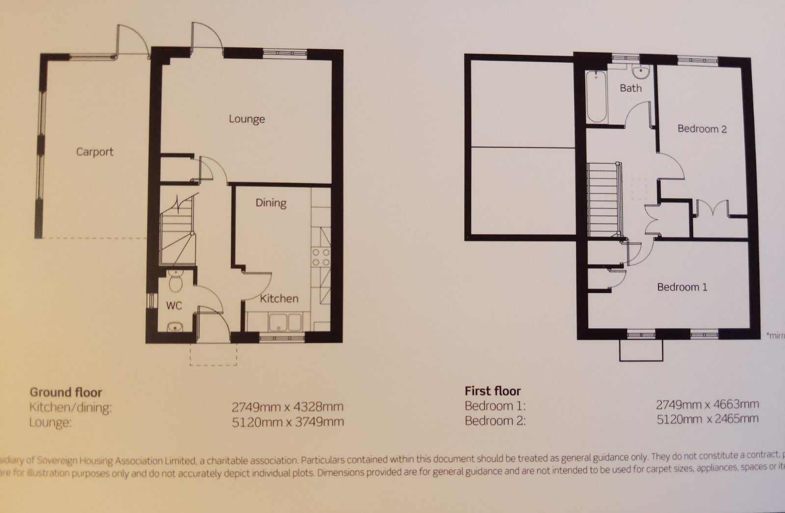 1 Coneygar Fields, Steeple Aston - Floor plan