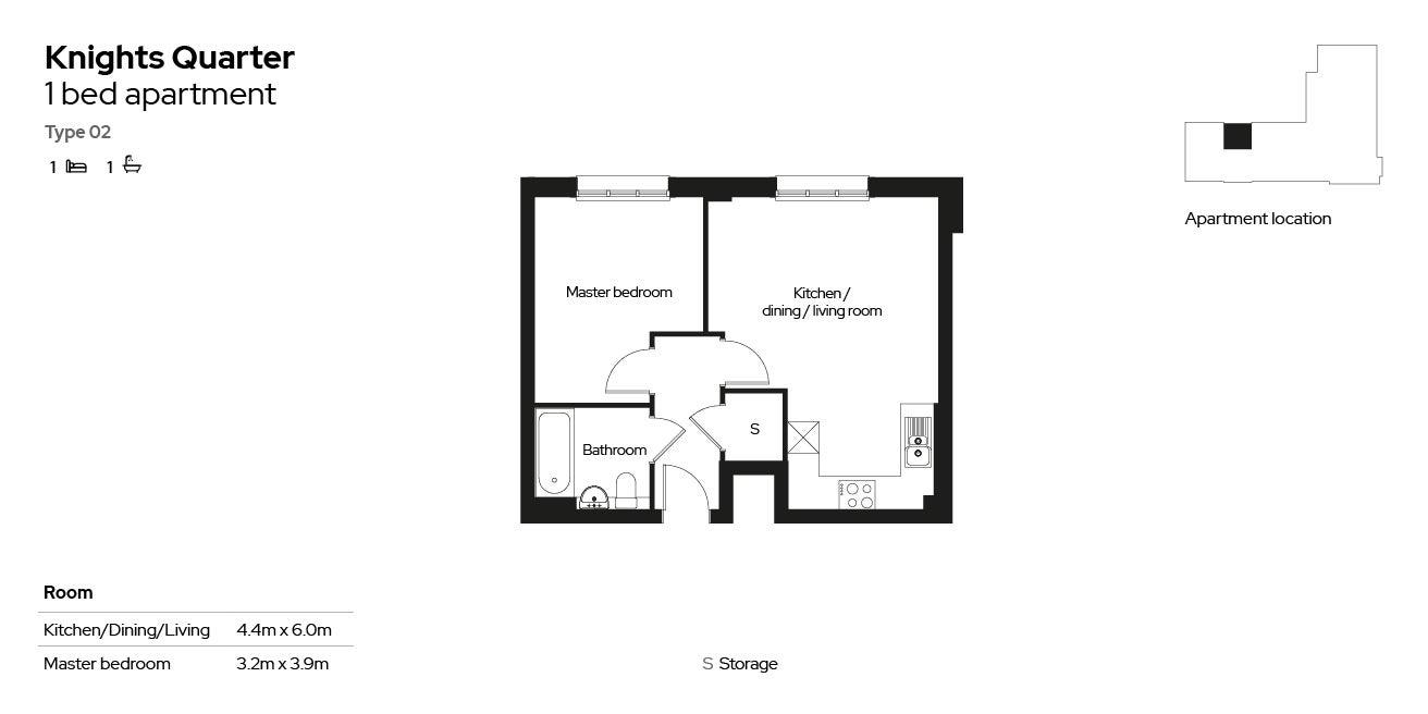 Knights Quarter apartment type 02