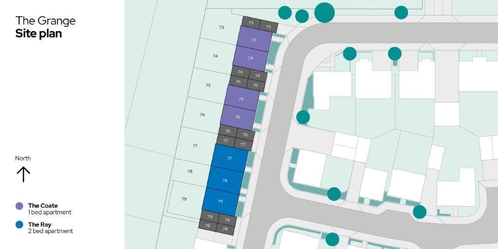 The Grange Sitemap Plots 73-79