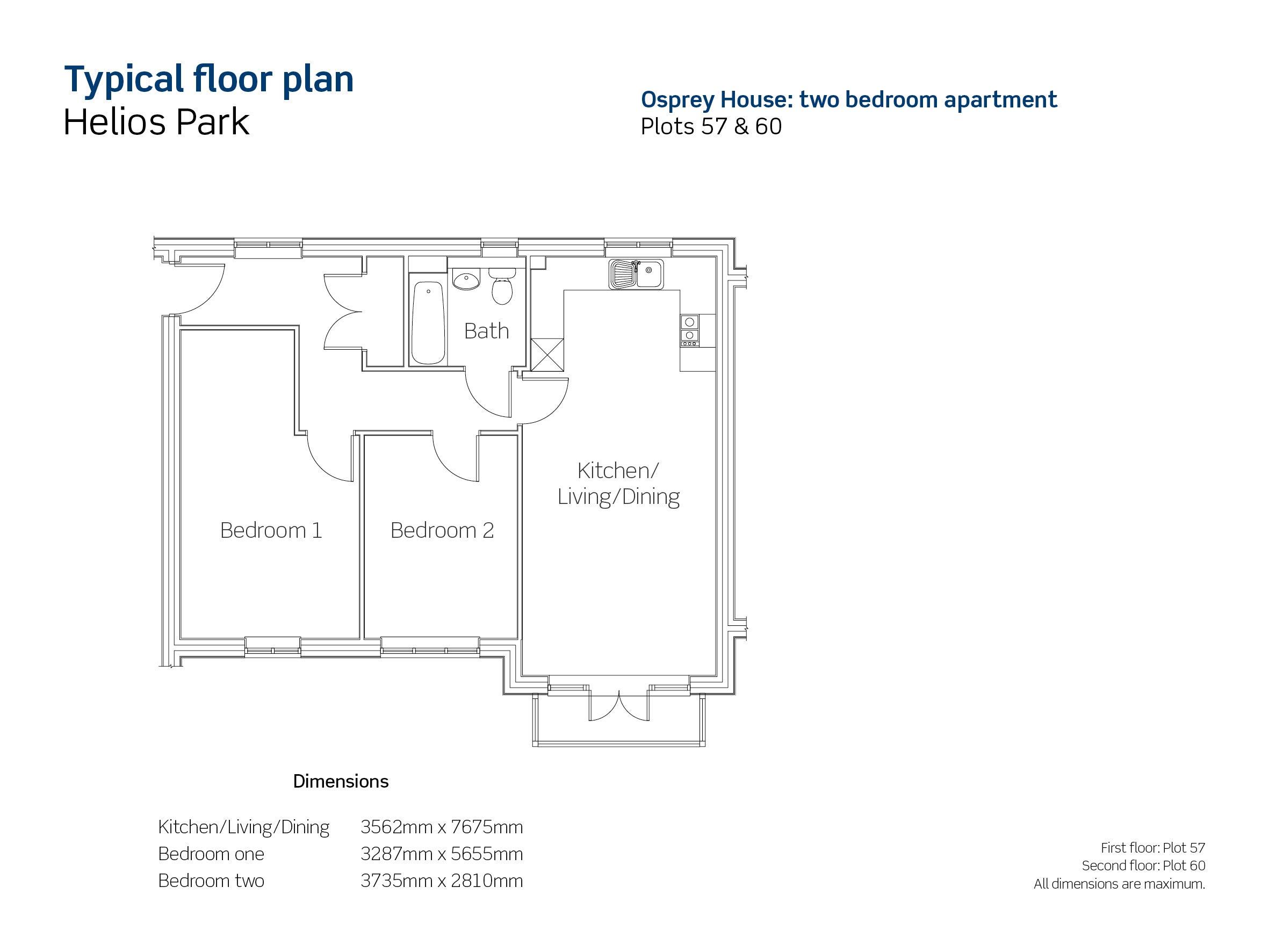 Helios Park plot 57 floor plan