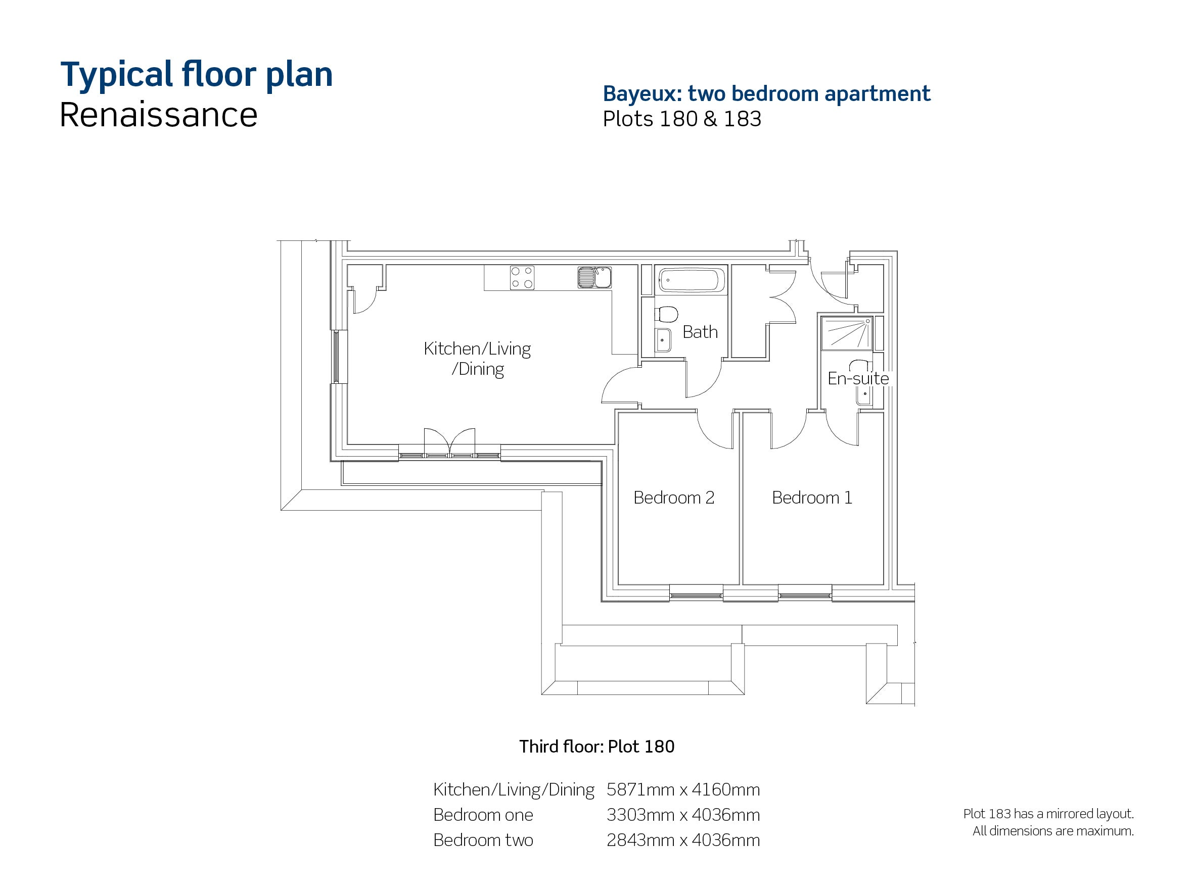 Plot 180 & 183 Floor Plan