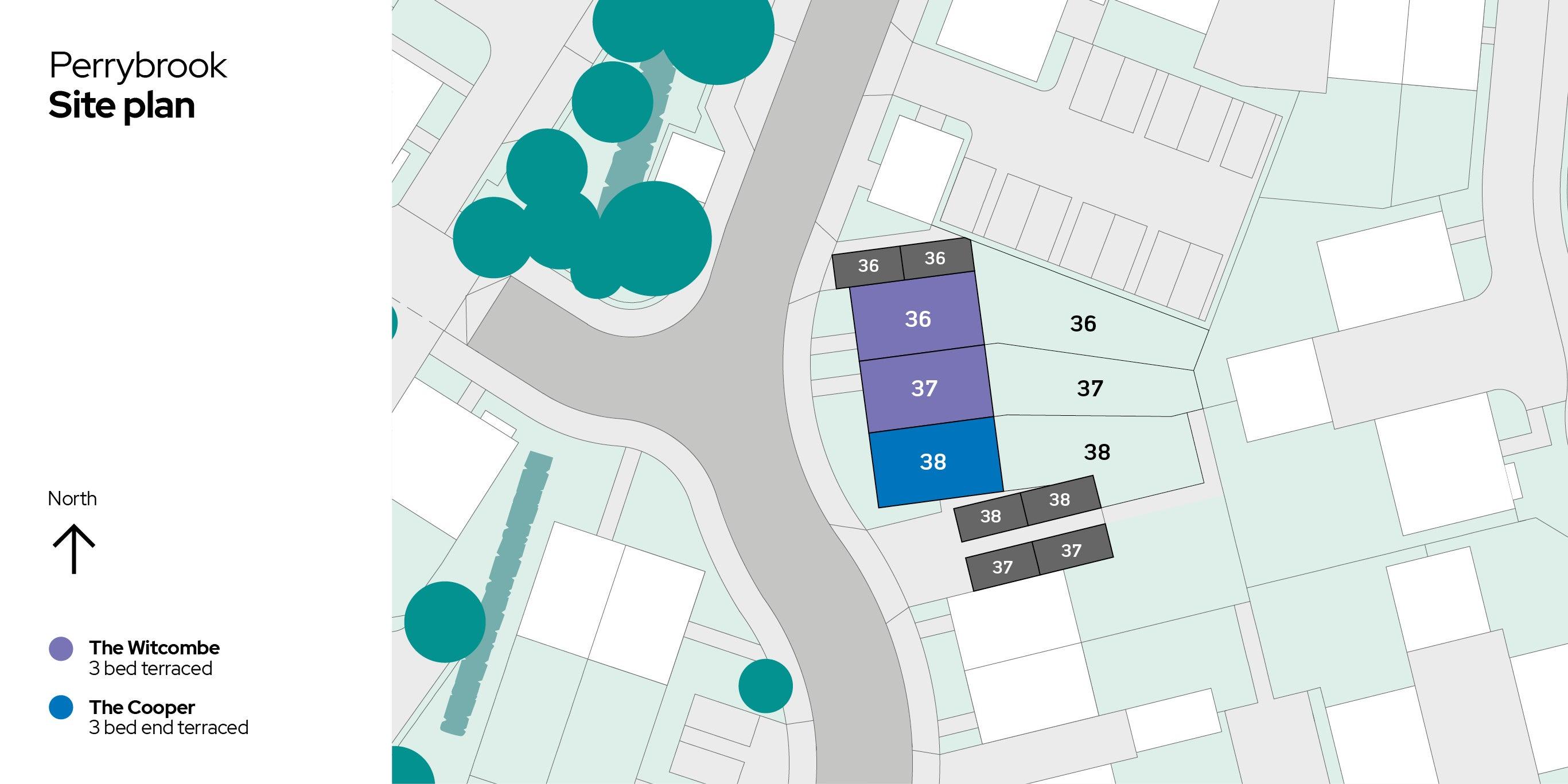 Perrybrook - Site plan