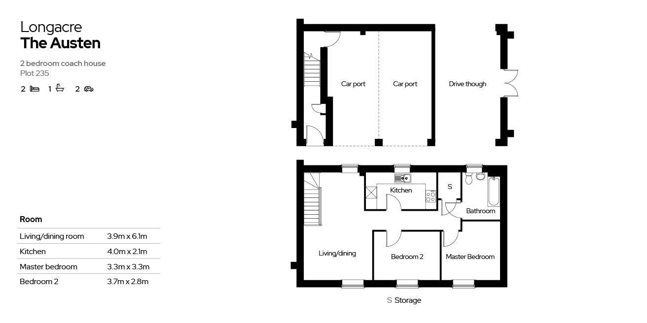 Longacre floor plan - Plot 235