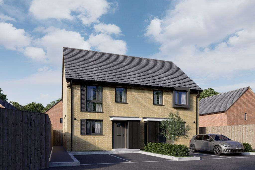 Plot 146 & 147, Gillies Meadow exterior CGI