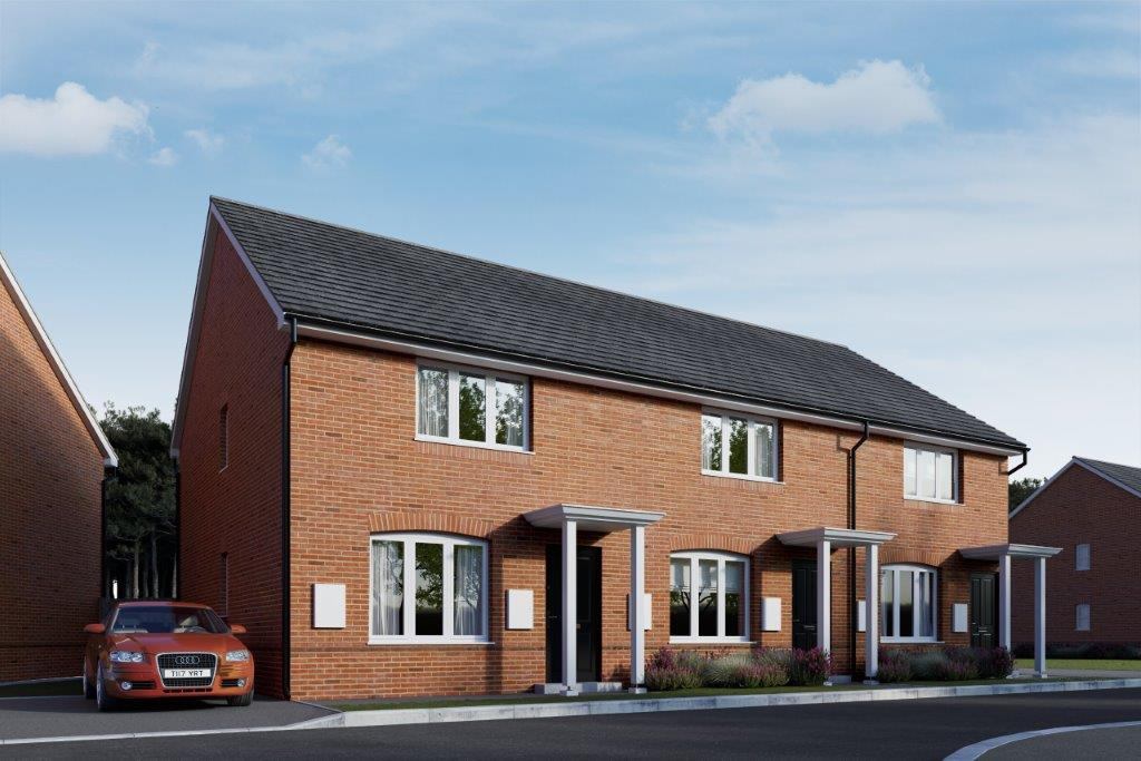 Great Oldbury Exterior CGI Plots 33-35