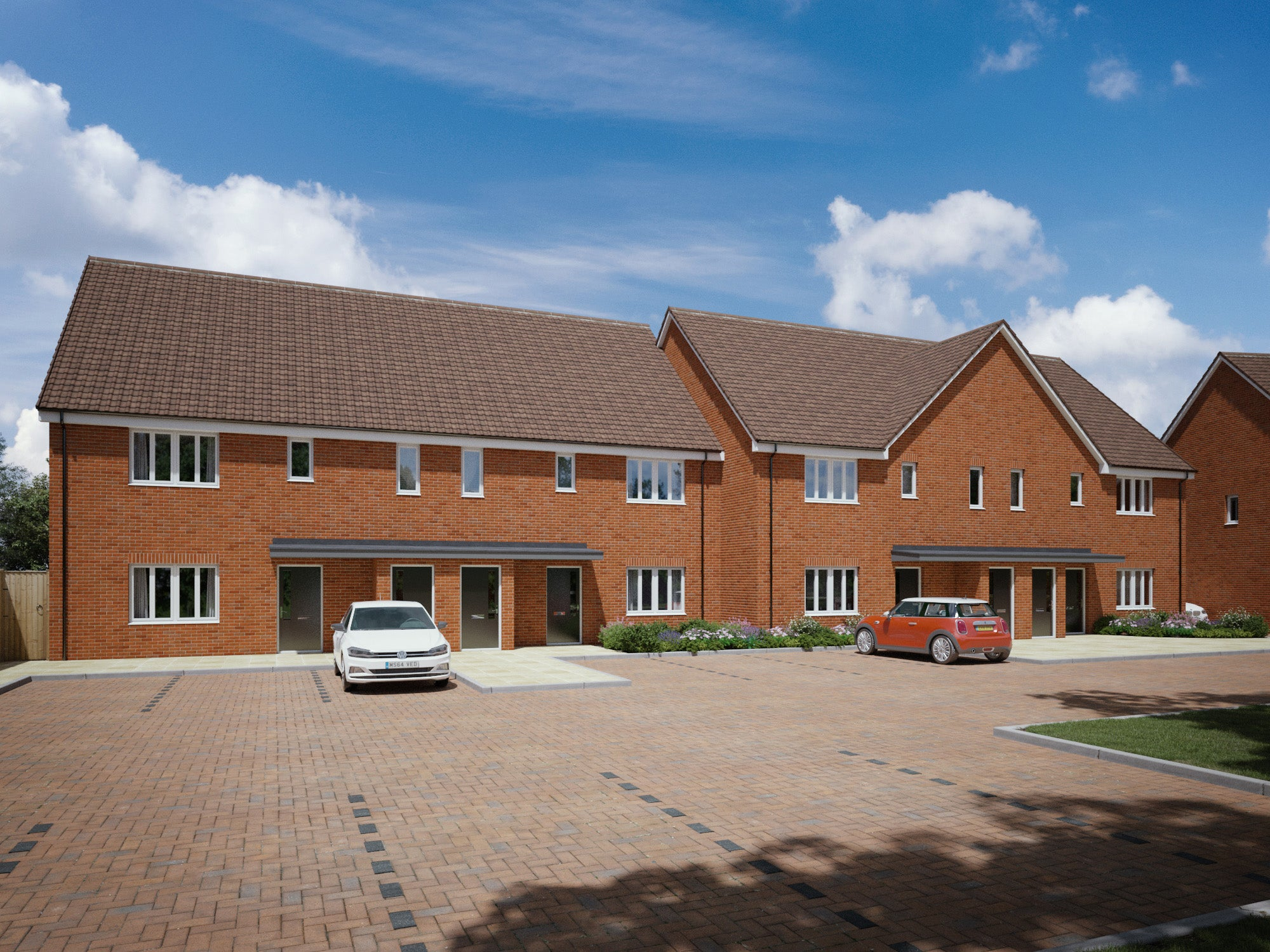 Crownbrook Place - maisonettes CGI (plots 17 - 24)