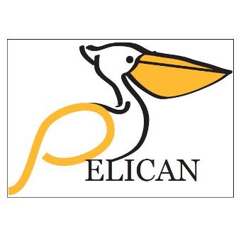 Logo met een pelikaan