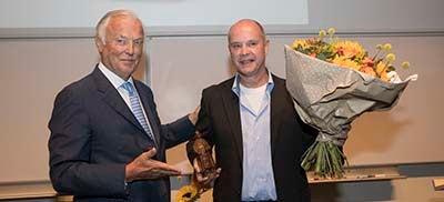 Overhandiging Boerhaaveprijs 2018 aan Tim van Nesselrooij