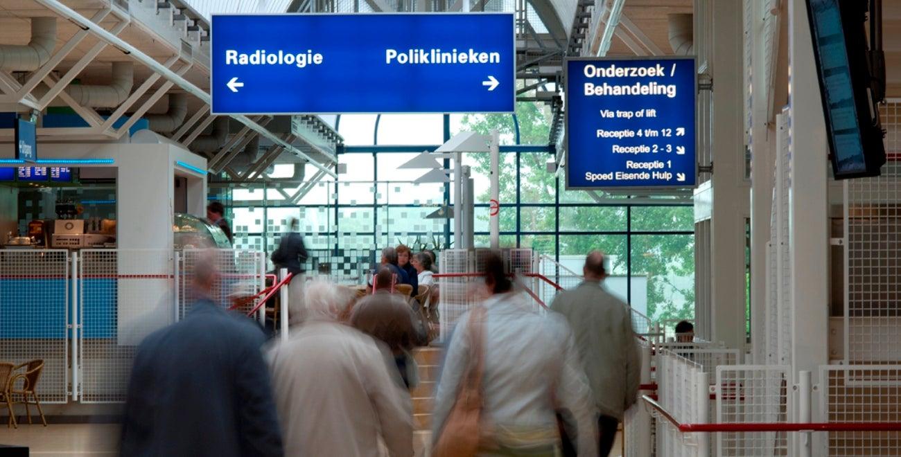 Polikliniek route UMC Utrecht