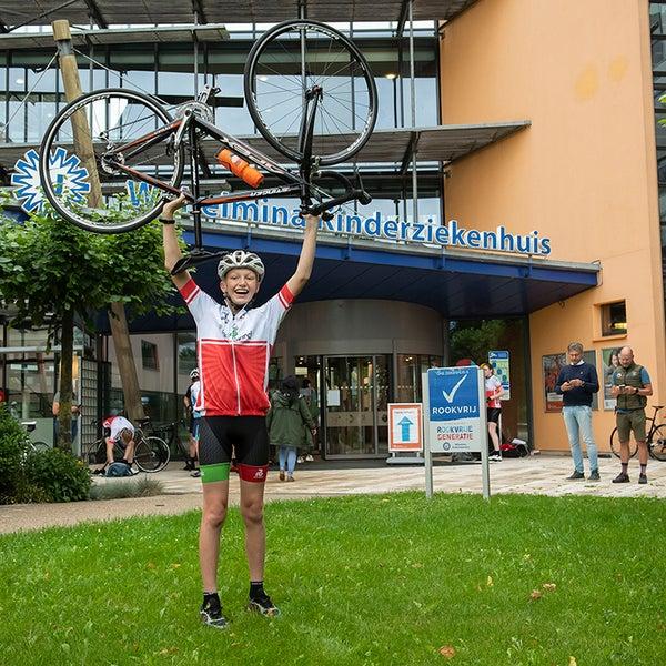 Ingmar gaat fietsen