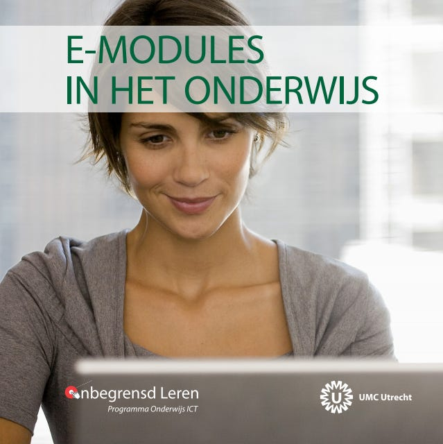 Cover boekje over e-modules