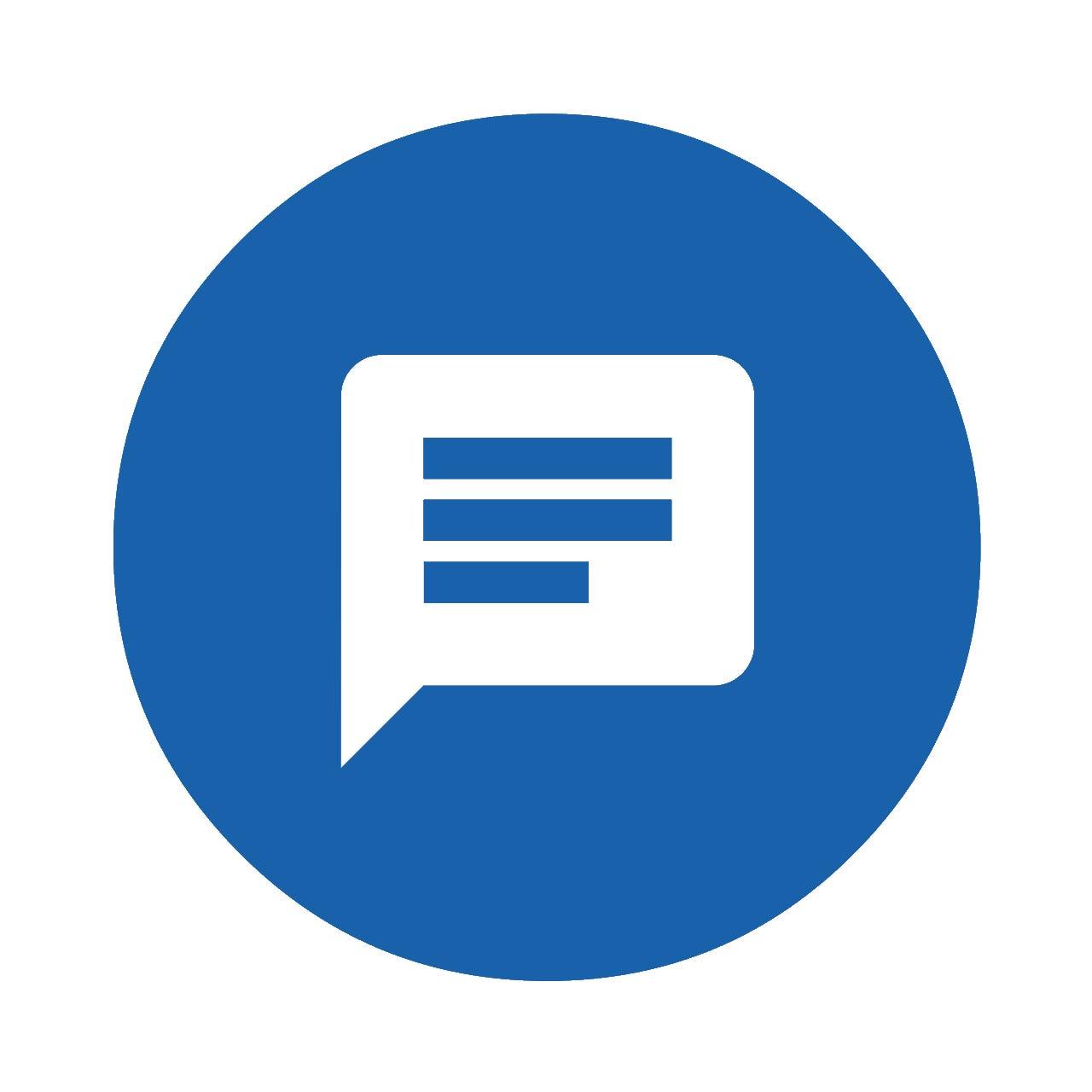 feedback icoon