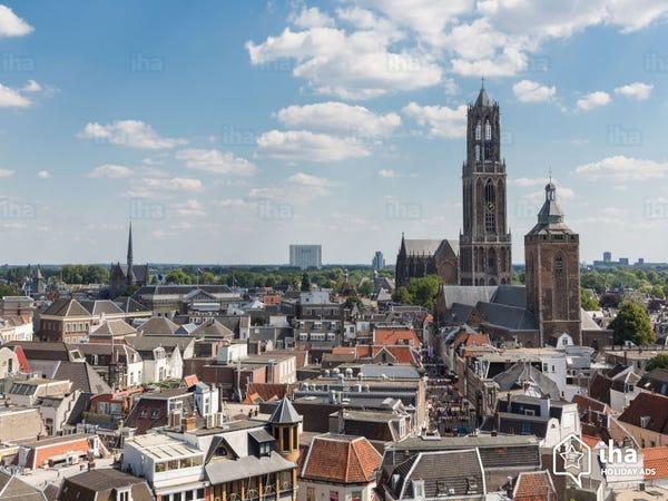 Stad Utrecht luchtfoto