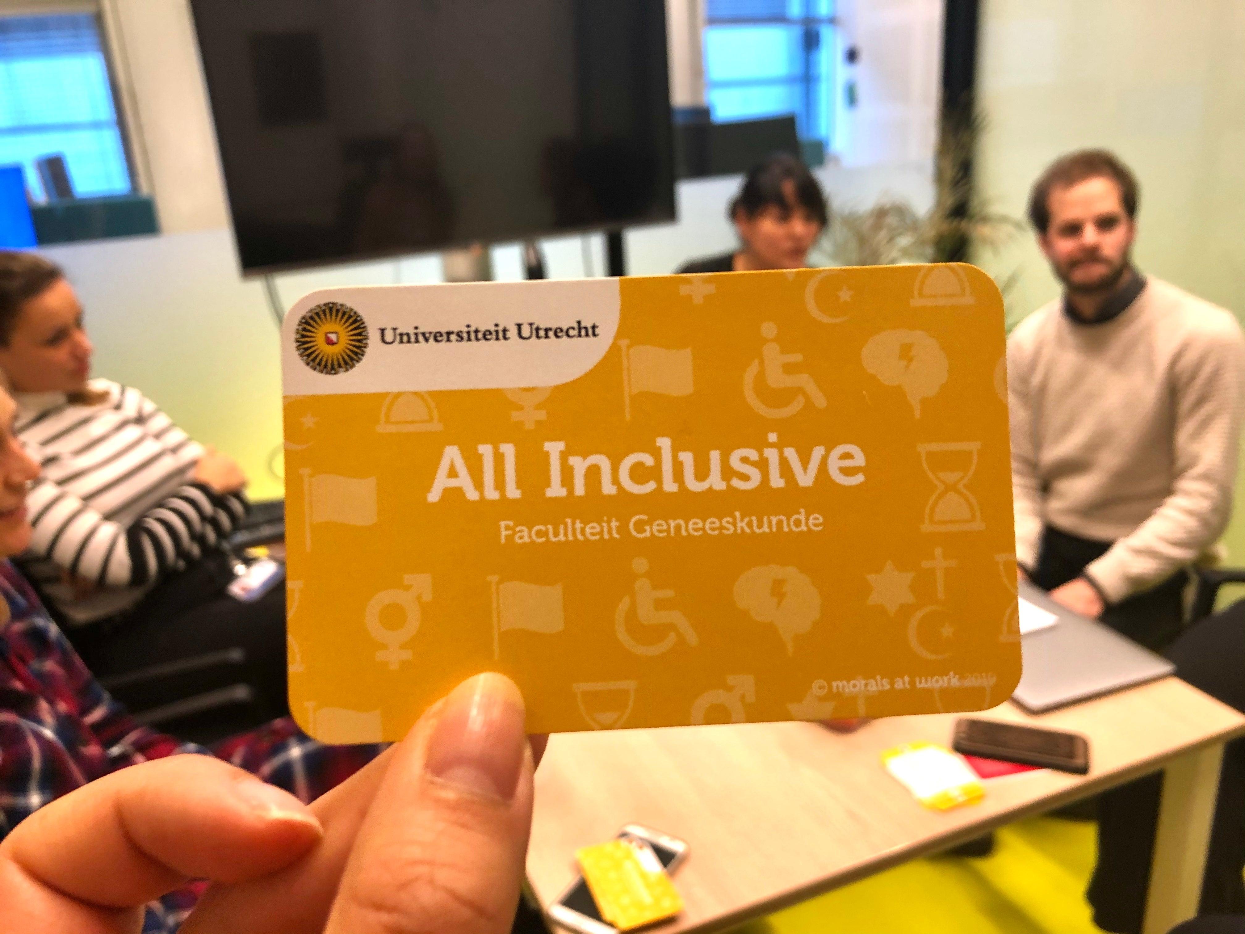 All inclusive card game