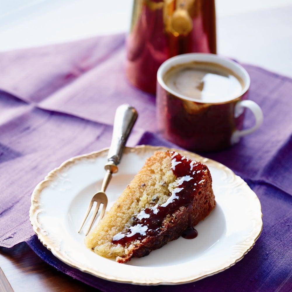 Flour-free Orange & Lavender Cake