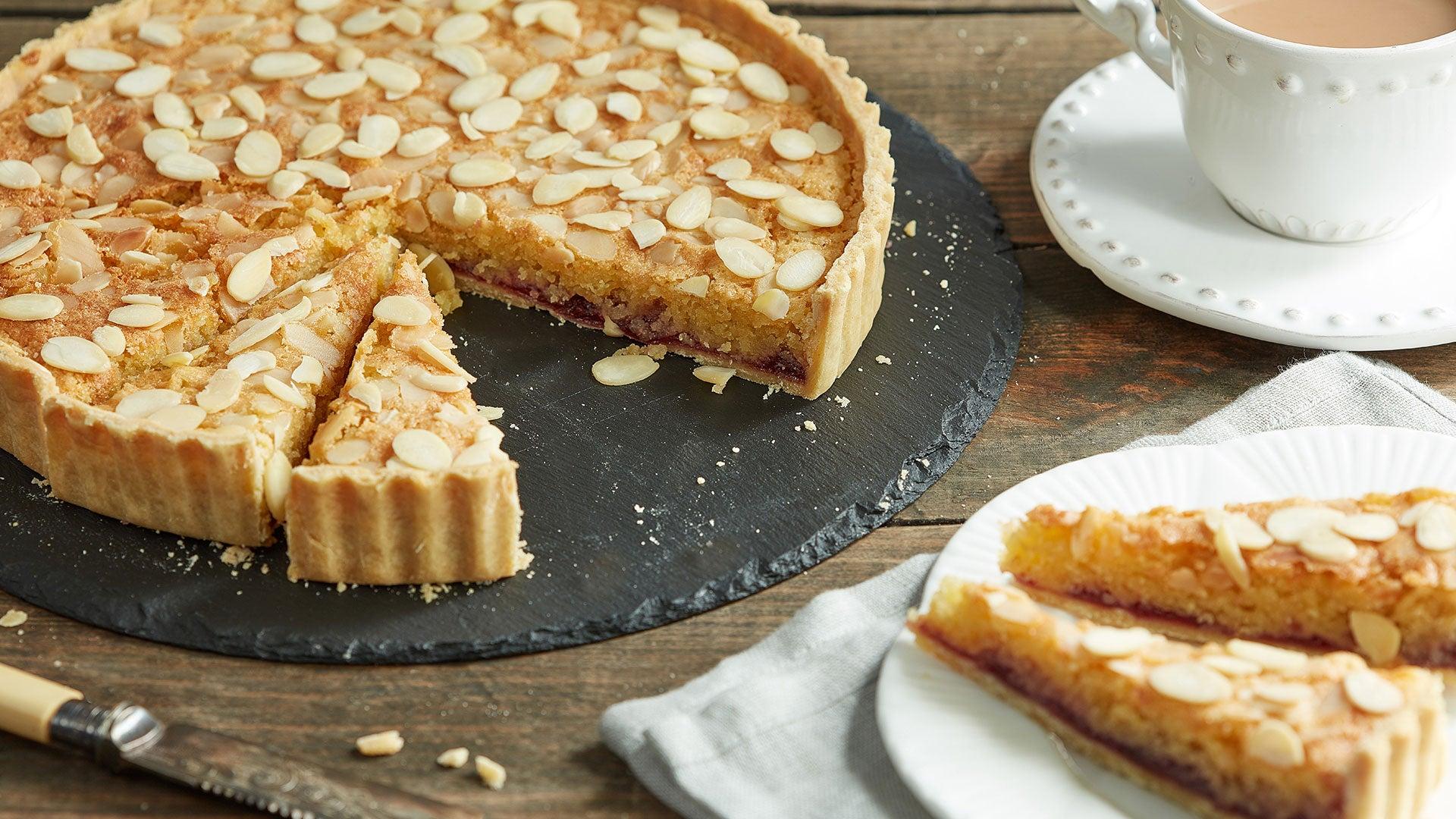 Simple Bakewell Tart