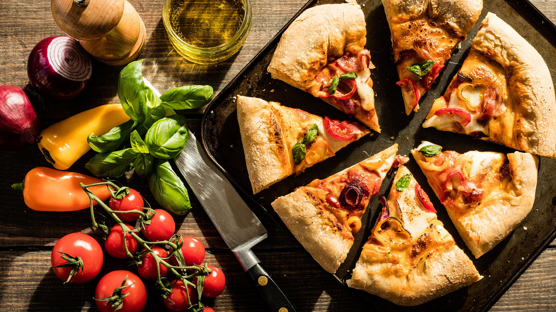 Sourdough Stuffed Crust Pizza