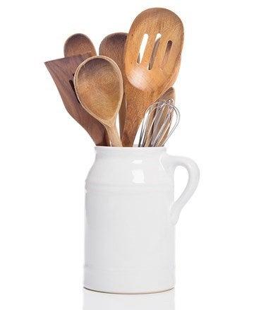 baking utensils in a jug