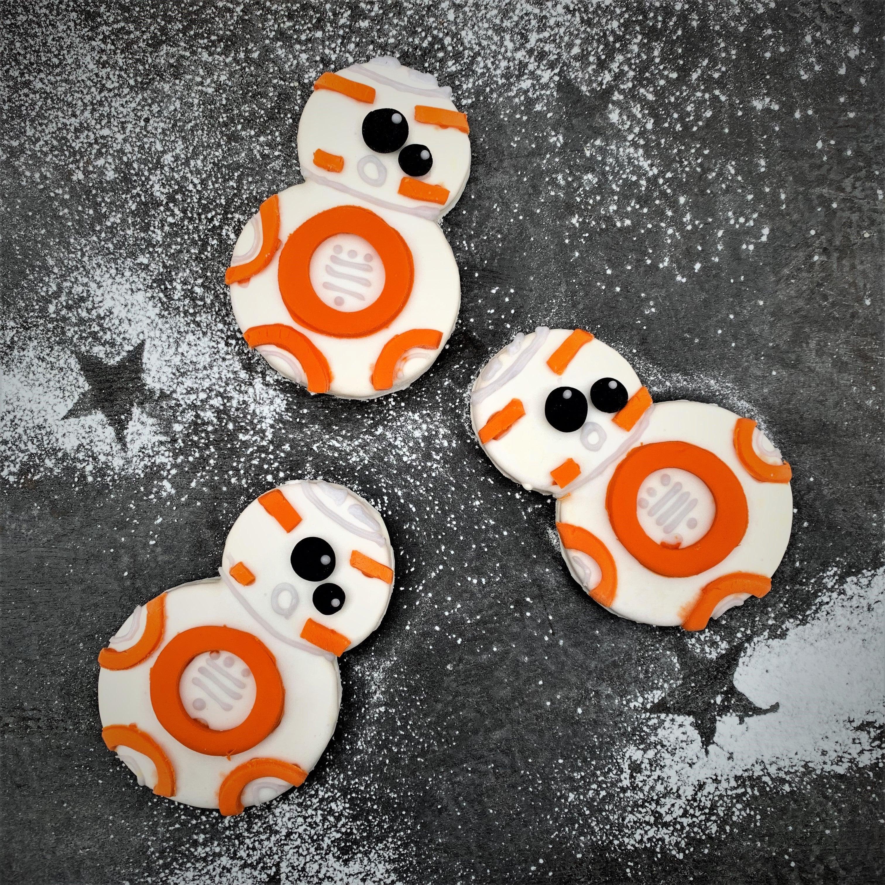 BB8 Star Wars Biscuits