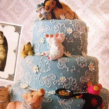 Peaches Geldof wedding cake by Juliet Sear