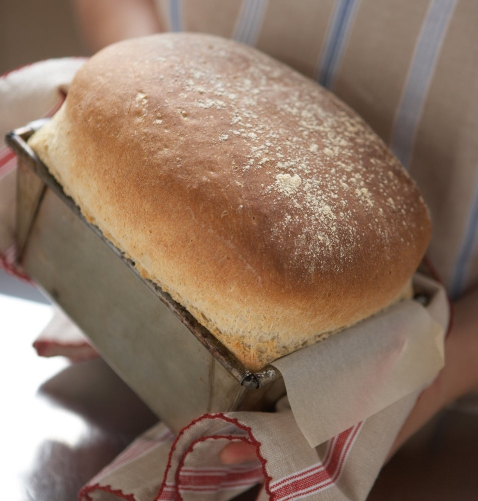 Hand Baked Traditional White Loaf