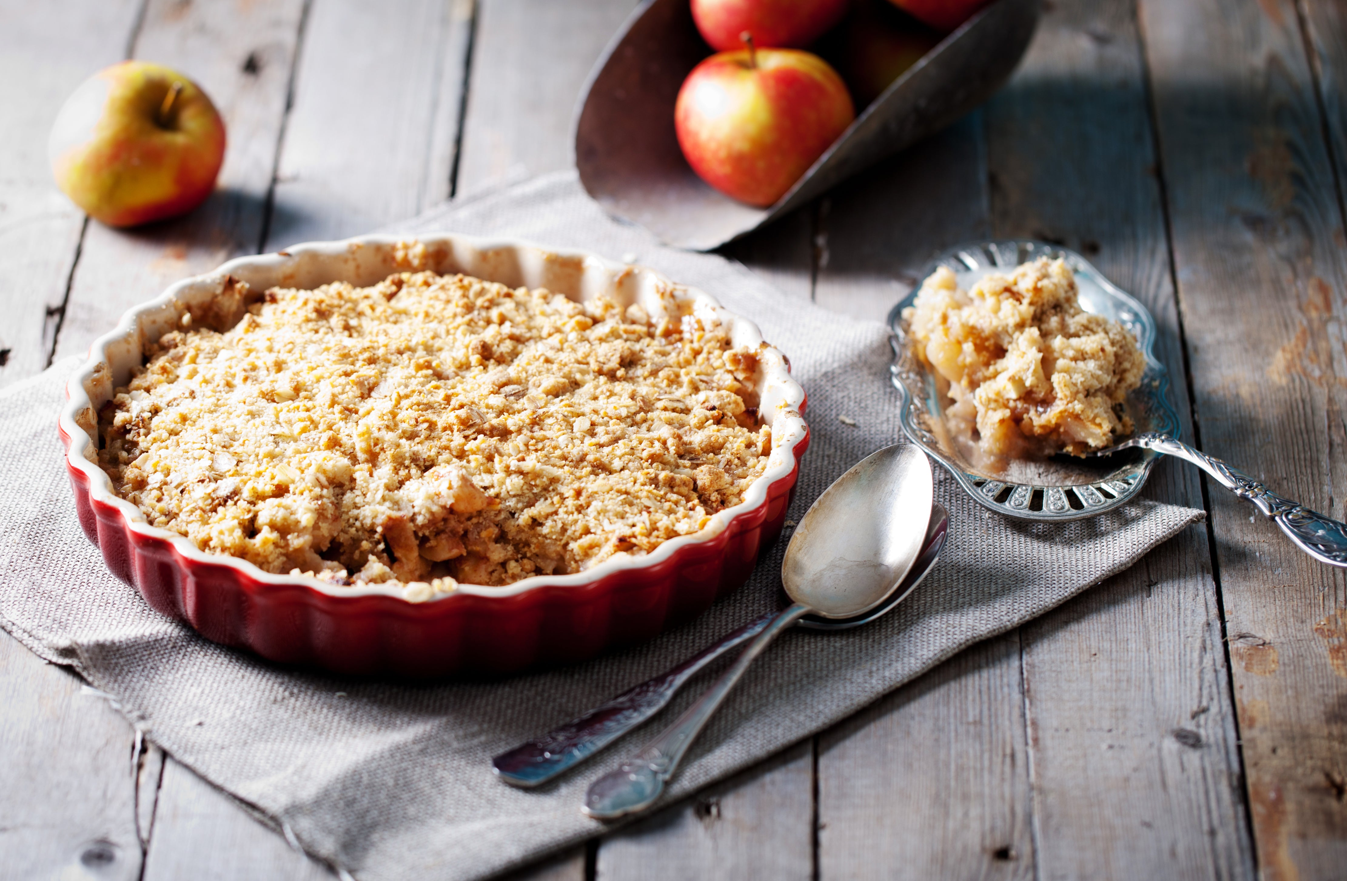 Easy Apple Crumble Recipe
