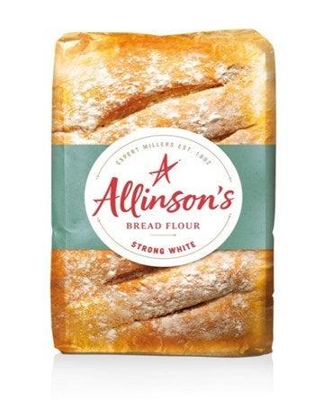 Allinson's strong white bread flour packshot