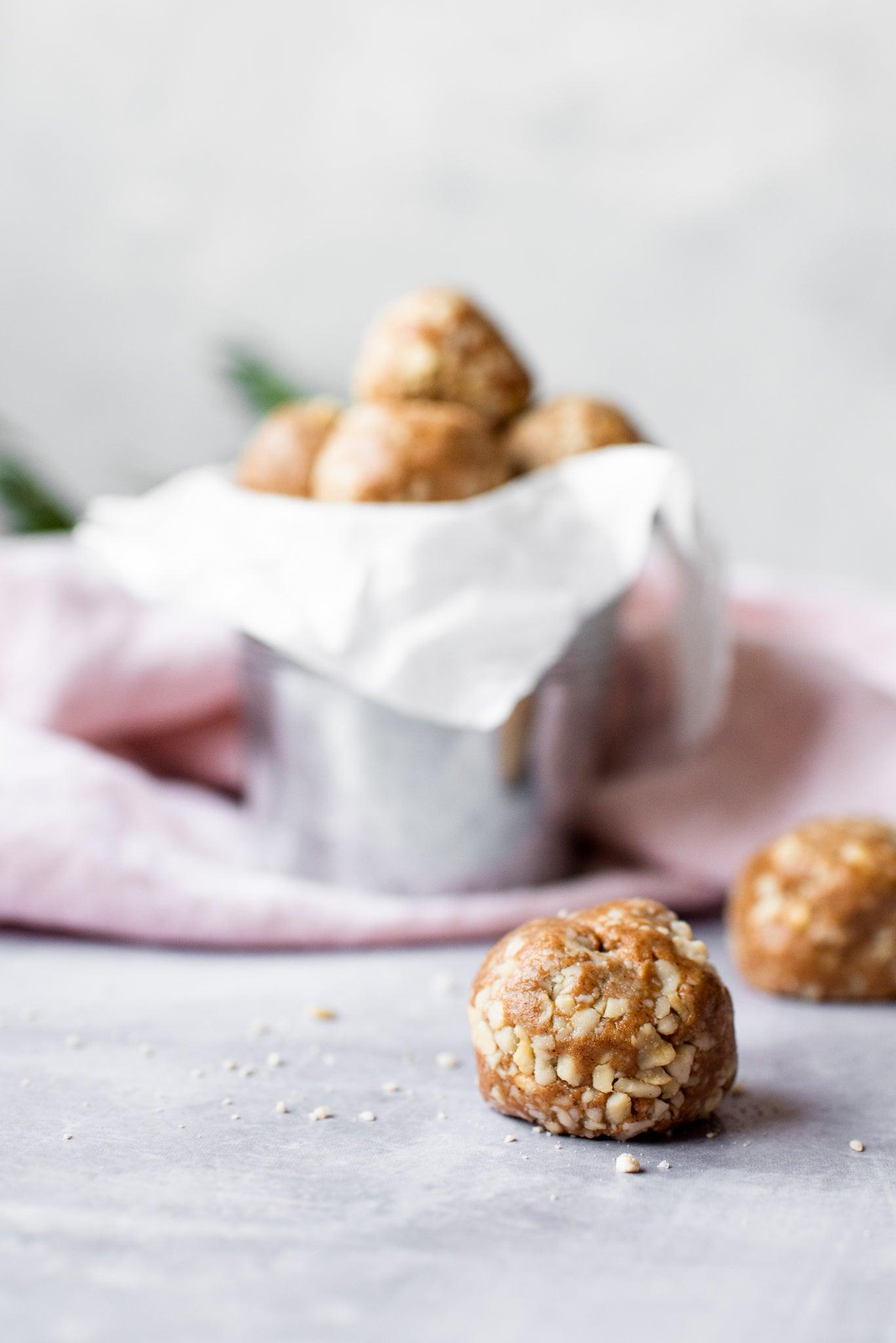 Gingerbread Nutty Protein Balls