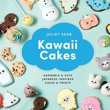 Kawaii cakes recipe book cover