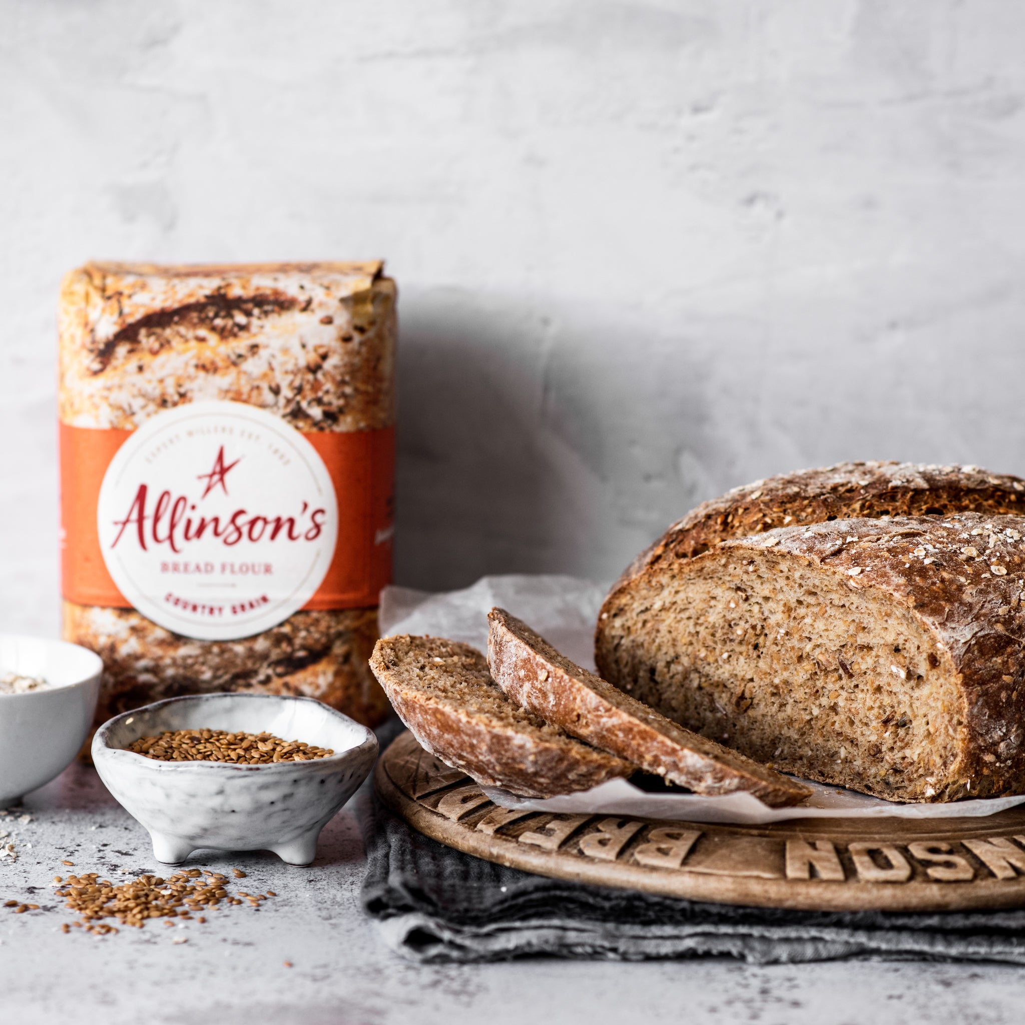 Wholemeal Linseed Bread