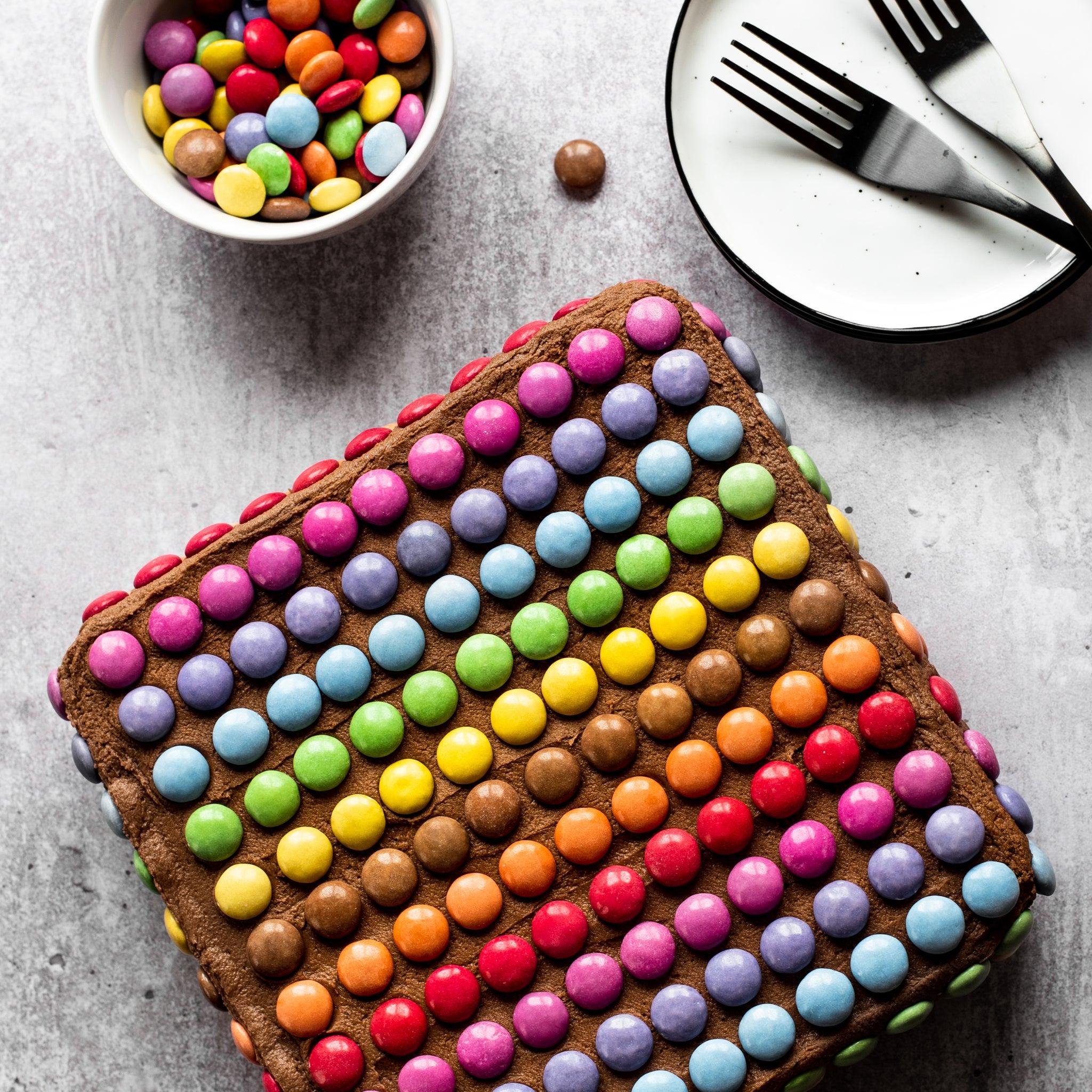 Chocolate Smarties Cake