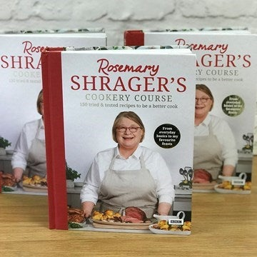 Front cover of Rosemary Shrager's recipe book
