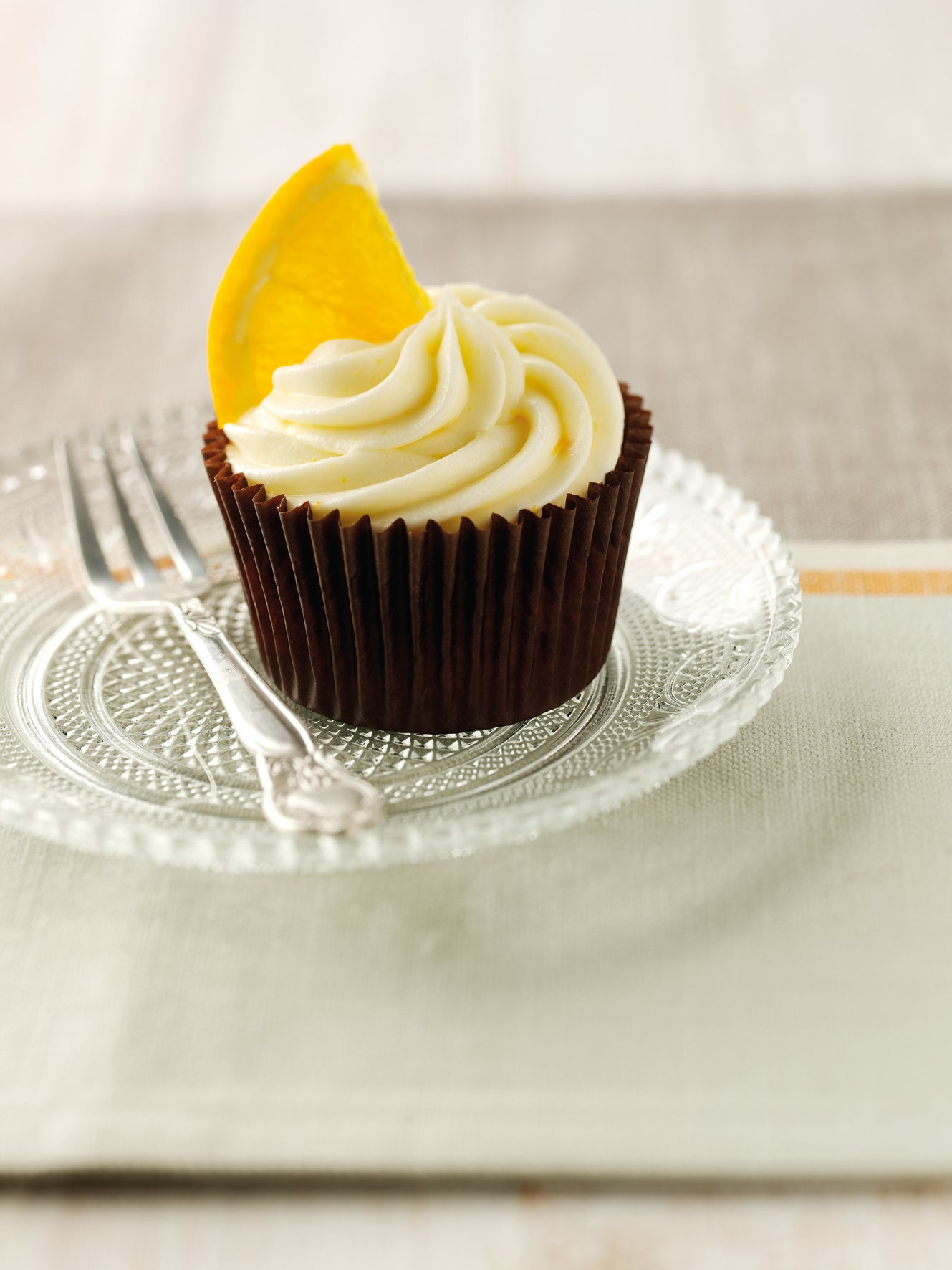 Orange Blossom Water Cupcakes