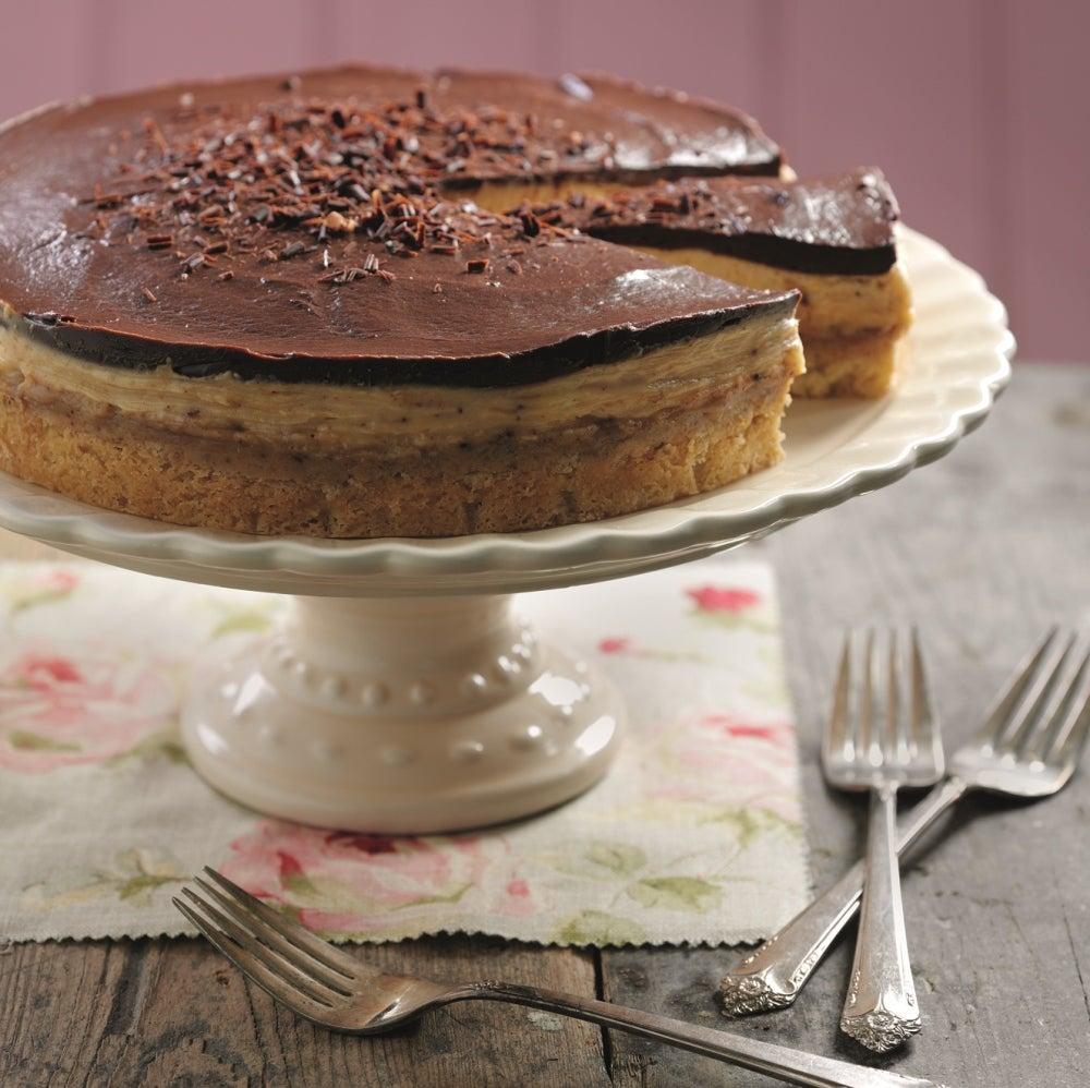Millionaire's cheesecake