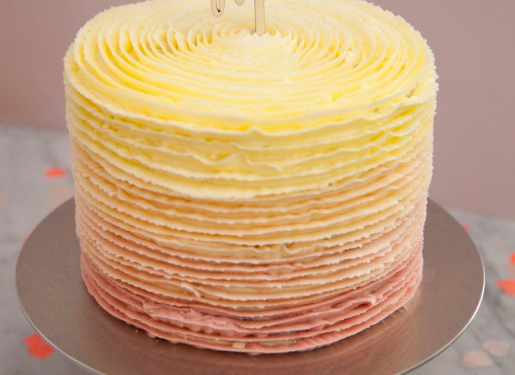 Gluten Free Elderflower & Lemon Cake