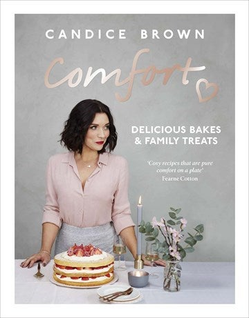 Candice brown 'comfort' recipe book cover