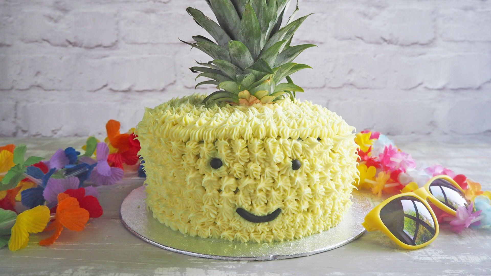 Pineapple Fiesta Cake