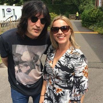 Noel Fielding with Juliet Sear