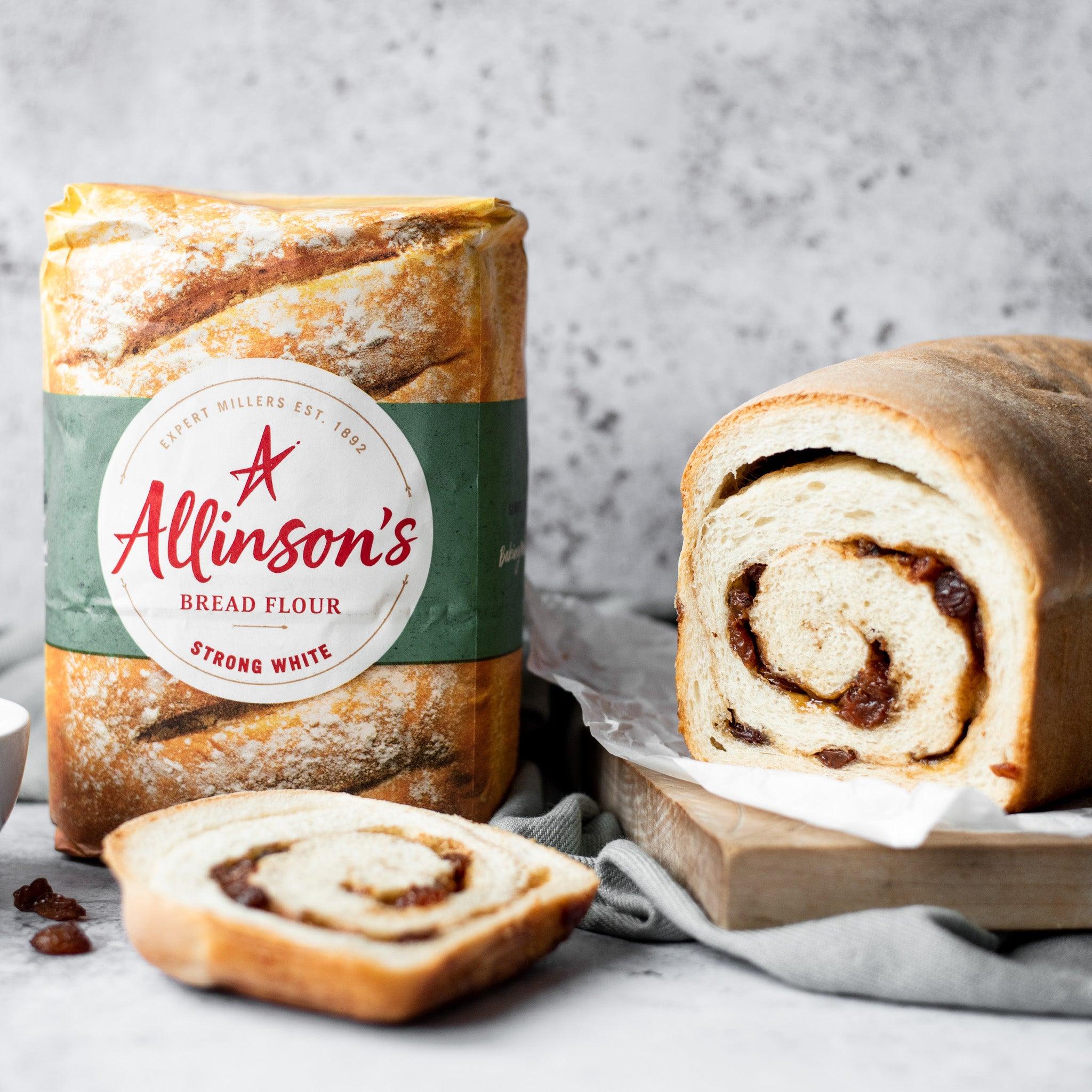 Cinnamon & Raisin Swirl Bread