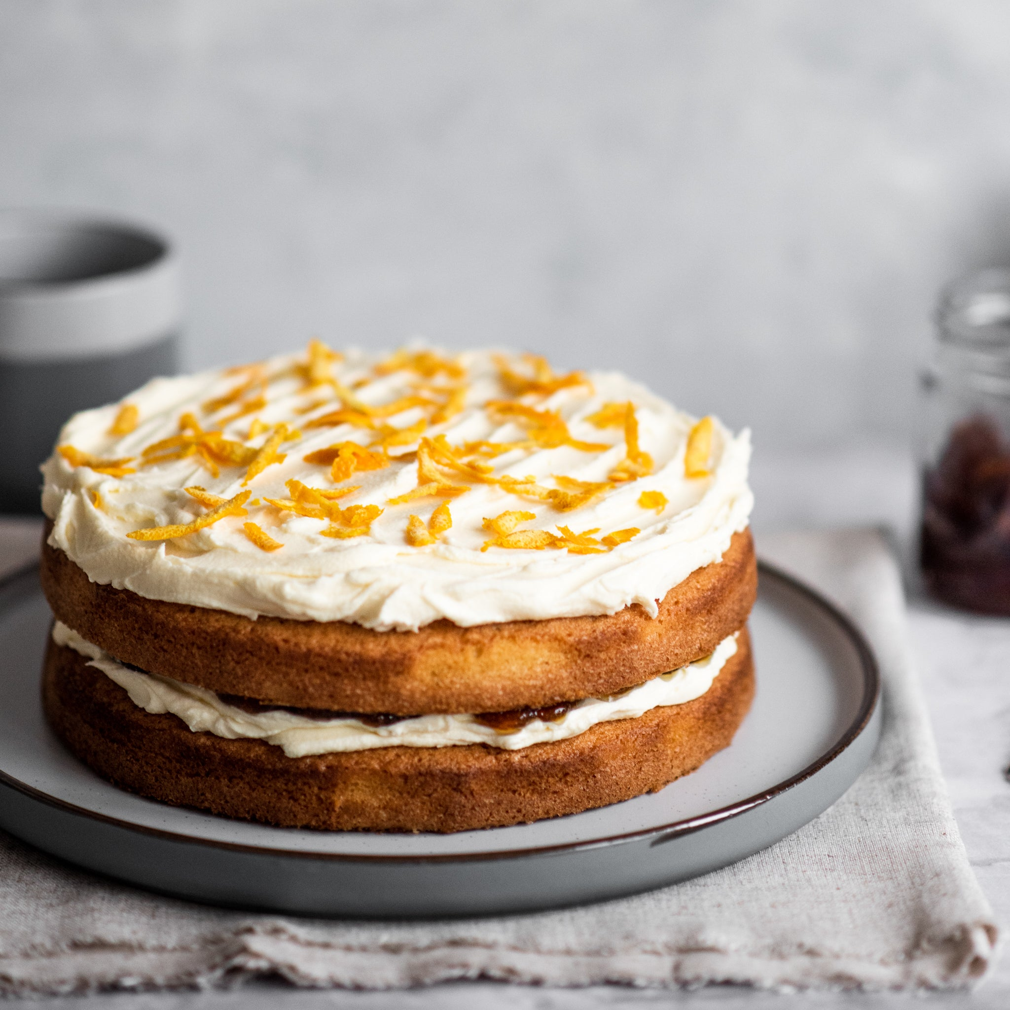 Layered Marmalade Cake