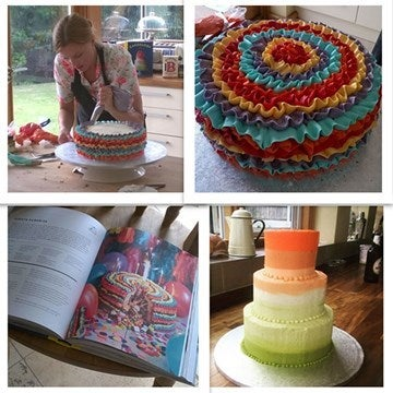 Juliet sear decorating cakes