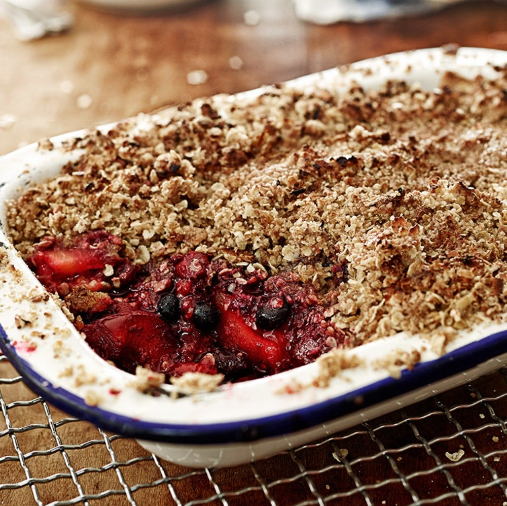 Plum & Forest Fruits Crumble