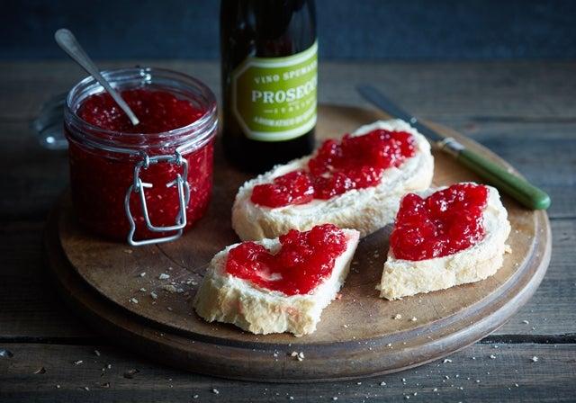 Prosecco & Raspberry Jam