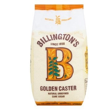Billington's golden caster sugar packet