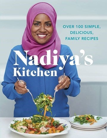 Front cover of Nadiya Hussain's recipe book