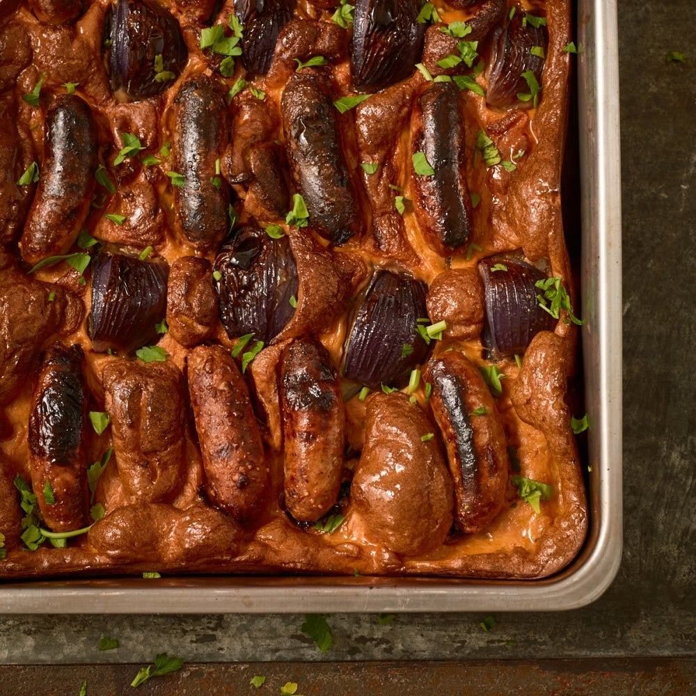 Chorizo Toad in the Hole