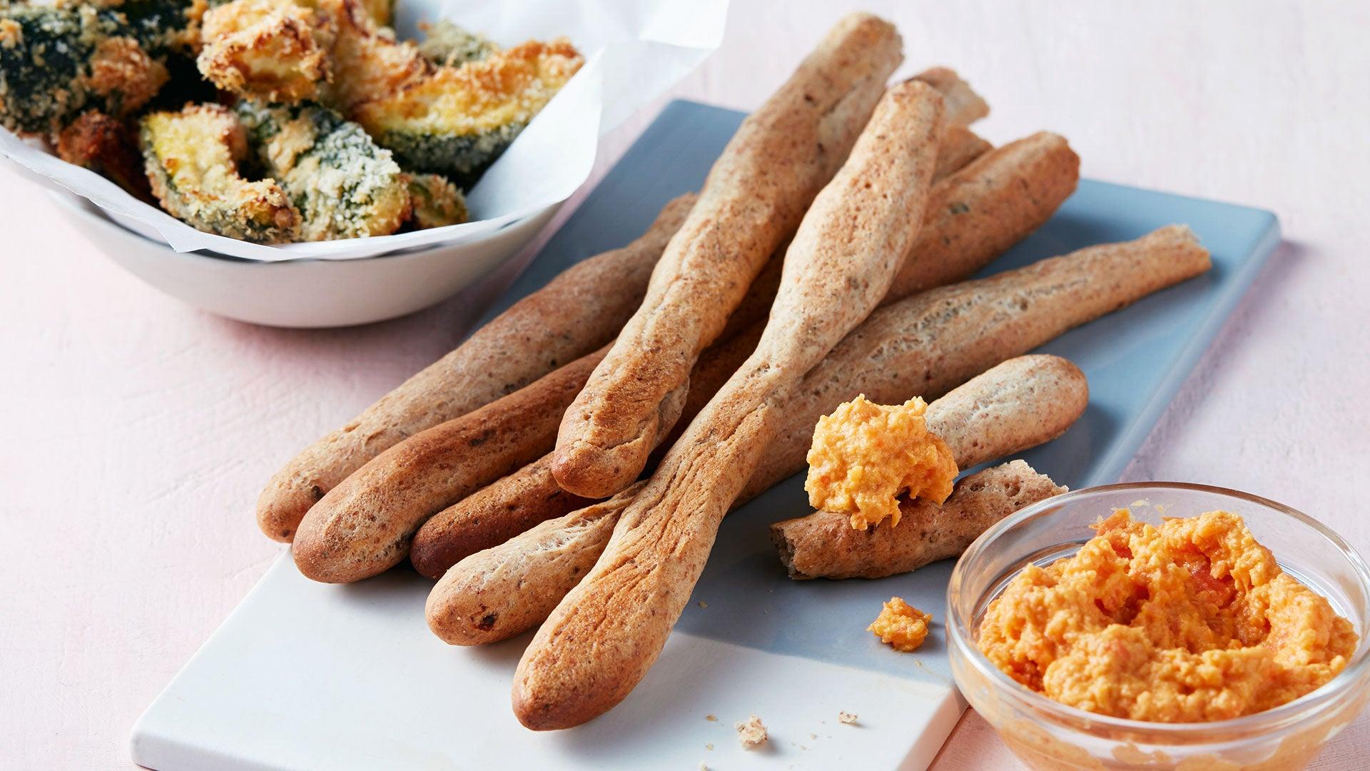 Seedy Breadsticks